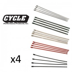 4x Stainless Tie Wraps CYCLE PERFORMANCE